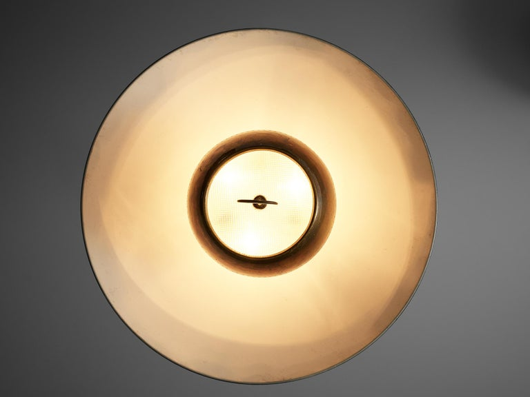 Metal Gaetano Scolari for Stilnovo Ceiling Lamp A5011 For Sale