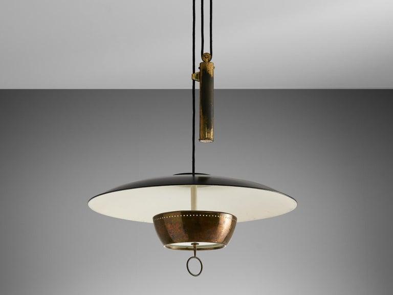 Gaetano Scolari for Stilnovo Ceiling Lamp A5011 For Sale 1