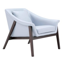 Gaia Armchair in Light Blue by Maurizio Marconato & Terry Zappa