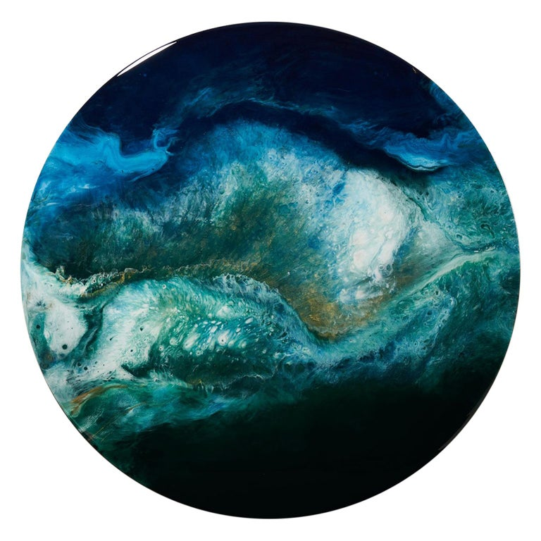 Gaia's Iris Concept Minimalistic Round by Corine Vanvoorbergen For Sale