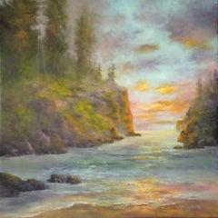 Twilight Interlude, Oil Painting