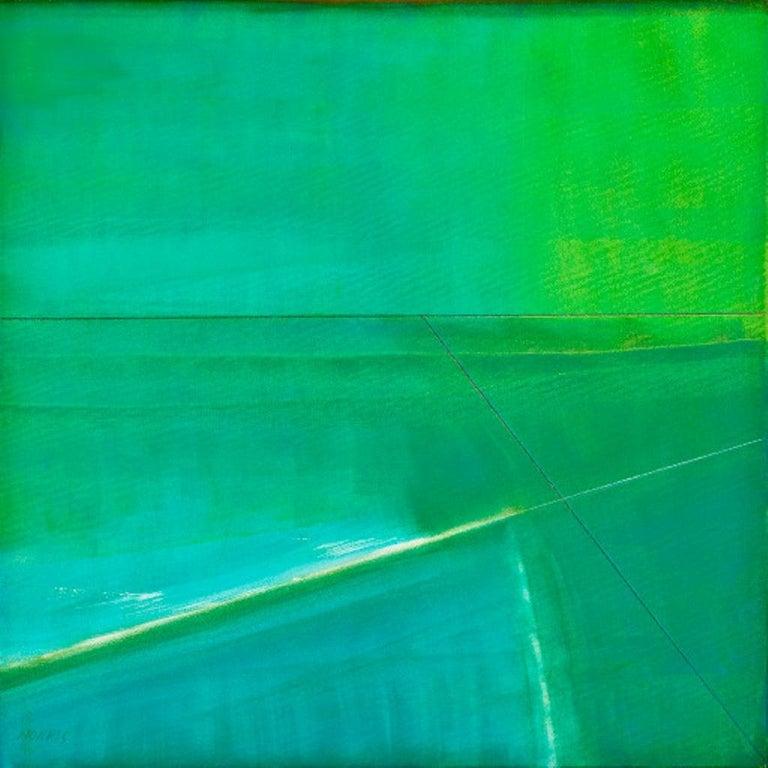 """Gail Morris Landscape Painting - """"Causeway"""""""