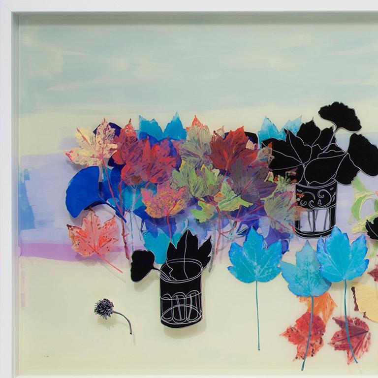 Fall - Contemporary Mixed Media Art by Gail Norfleet