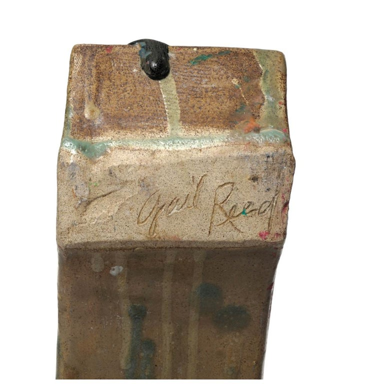 Canadian Gail Reed Mid-Century Modern Ceramic Sculpture For Sale