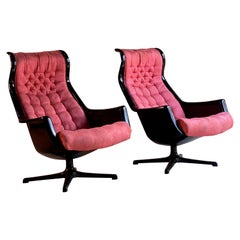 Galaxy Chairs by Alf Svensson & Ingvar Sandstrom for DUX, Sweden, circa 1968