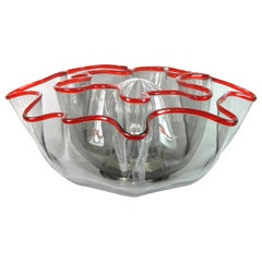 Galea Lamp in Murano Glass, Design by Adalberto Dal Lago for Vistosi Italy, 1968