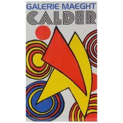 Galerie Maeght Alexander Calder Lithograph Poster, circa 1970s