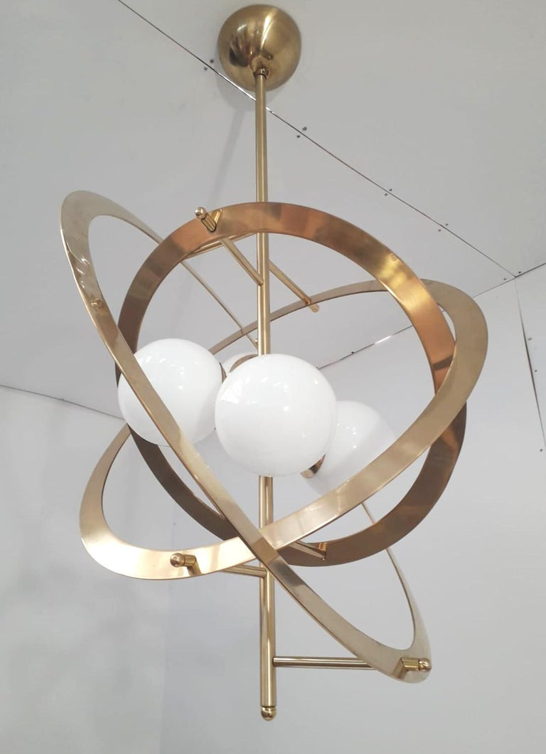 Mid-Century Modern Galileo Chandelier by Fabio Ltd. For Sale
