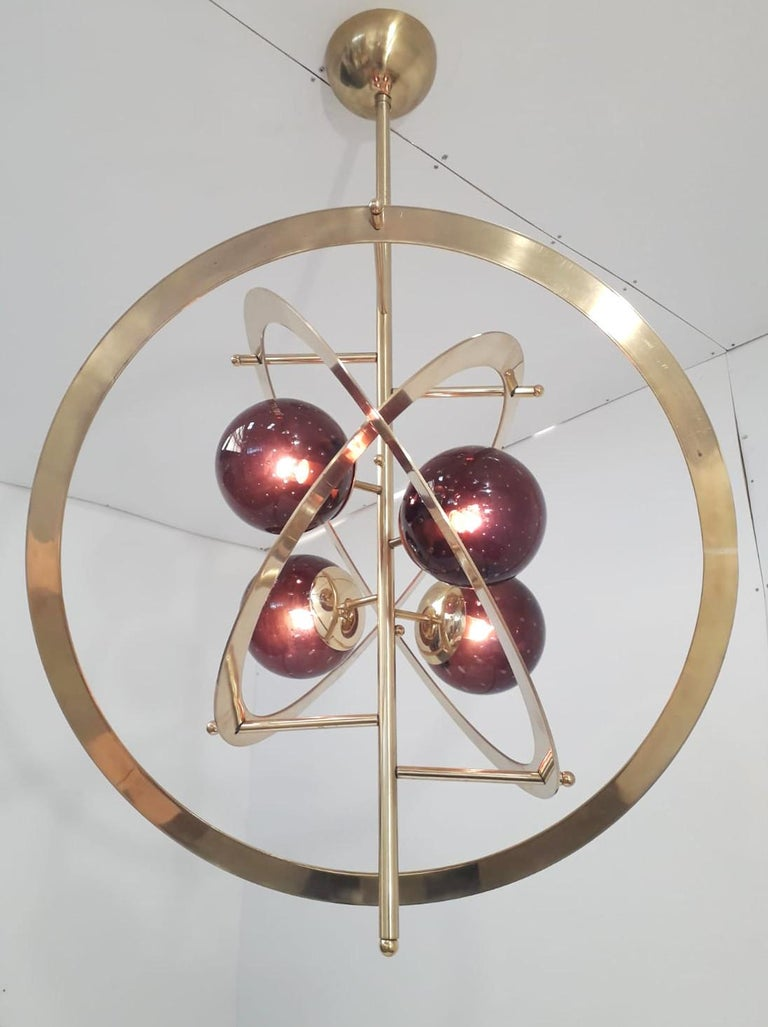 Contemporary Galileo Chandelier by Fabio Ltd For Sale