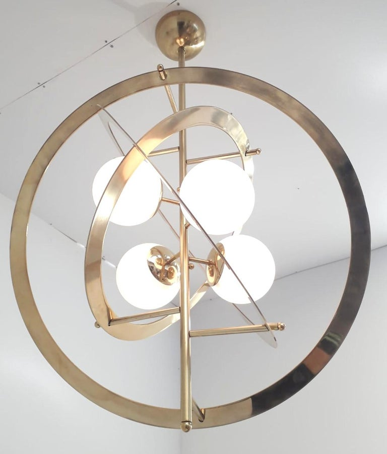 Contemporary Galileo Chandelier by Fabio Ltd. For Sale