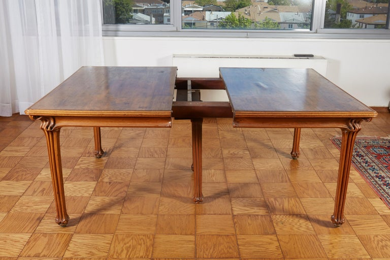 French Galle Large Dining Room Table For Sale