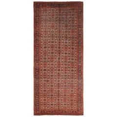 Gallery Size Antique Persian Bidjar Rug