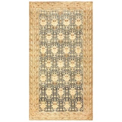 Gallery Size Antique Tribal Persian Malayer Rug. Size: 5 ft x 9 ft 9 in