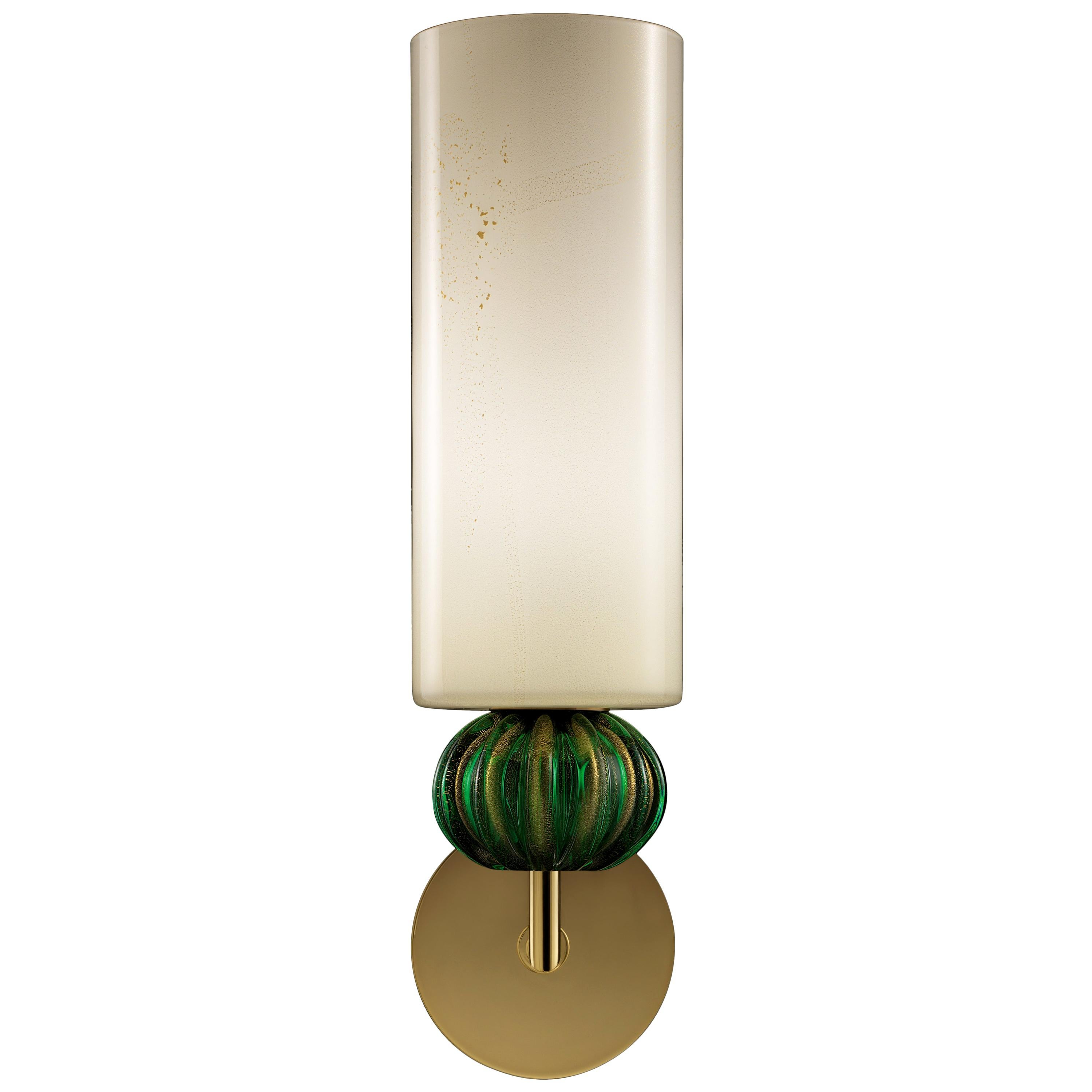 Gallia 5627 Wall Sconce in Glass, by Barovier & Toso