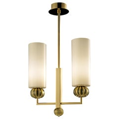 Gallia 5628 O85 Suspension Lamp in Glass, by Barovier&Toso