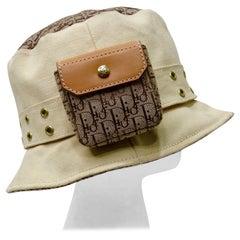 Galliano for Dior 2002 Diorissimo Bucket Hat