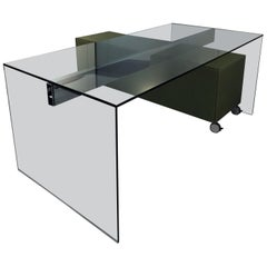 Gallotti & Radice Air Glass Desk for Home or Office