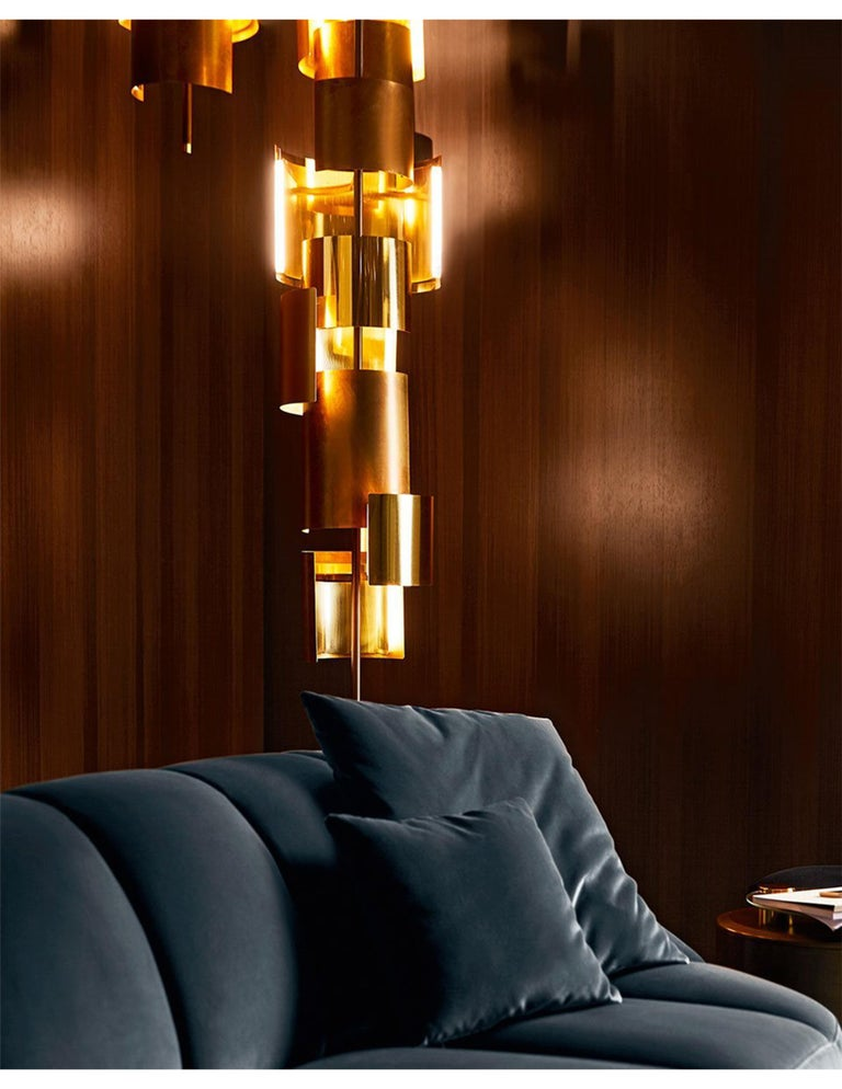 Modern Gallotti & Radice Eris Hanging Pendant Lamp For Sale