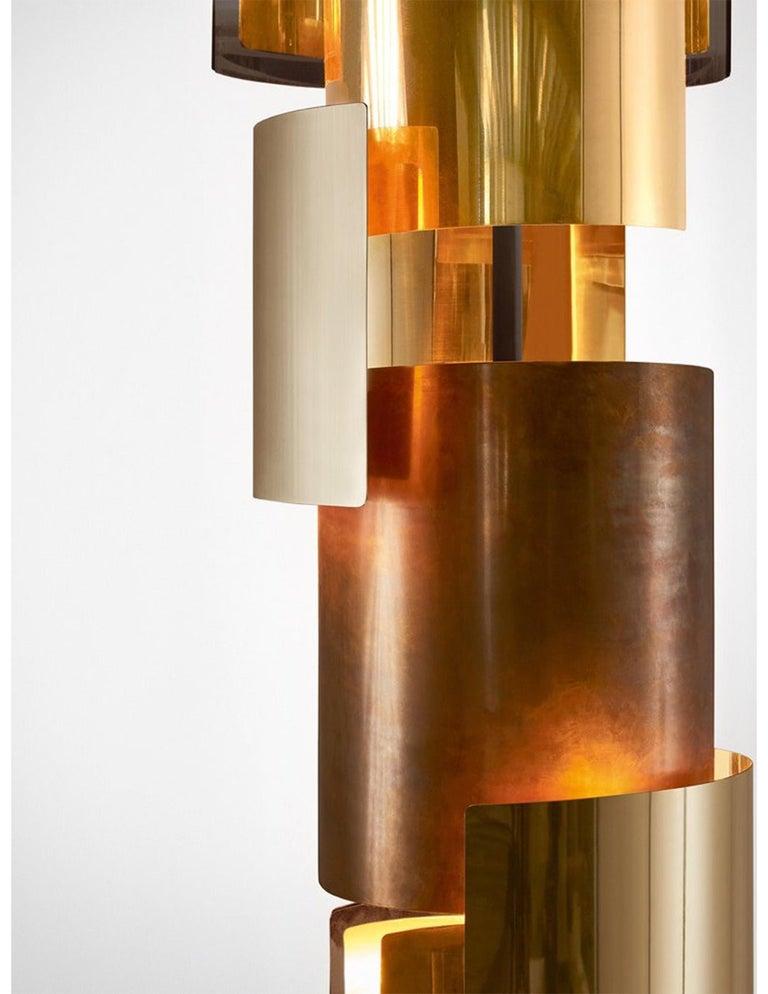 Italian Gallotti & Radice Eris Hanging Pendant Lamp For Sale