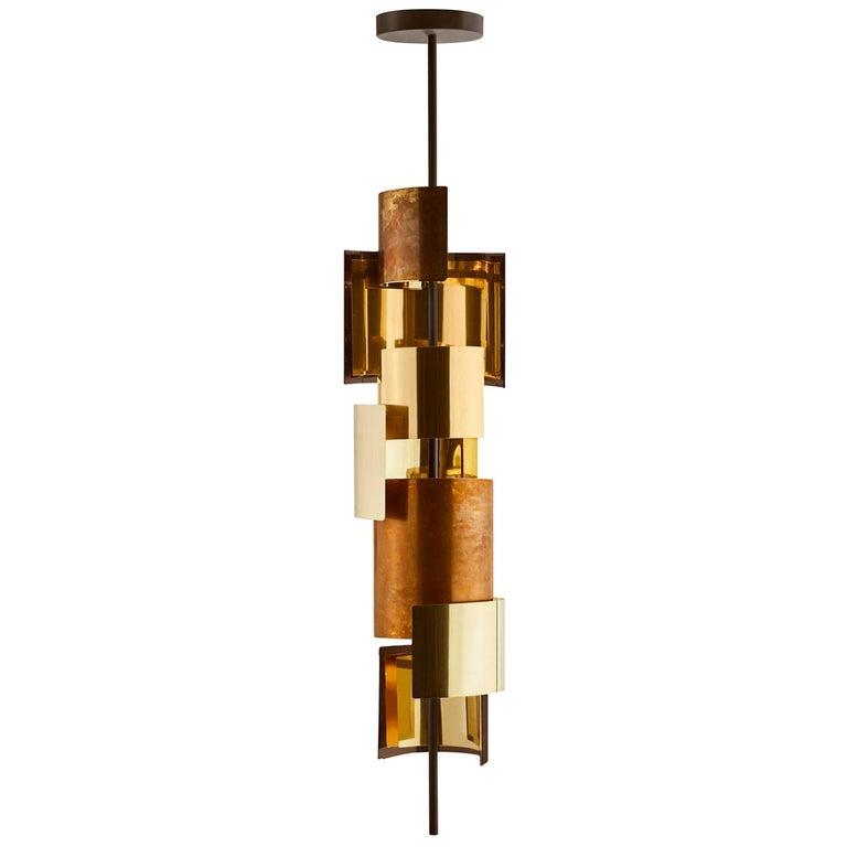 Gallotti & Radice Eris Hanging Pendant Lamp For Sale