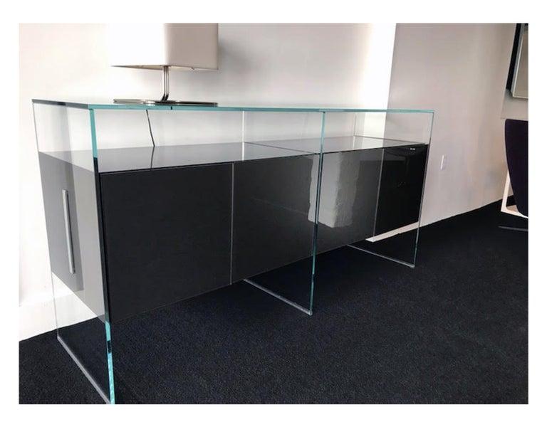Gallotti & Radice Glass Modular System Air Unit Storage For Sale 4