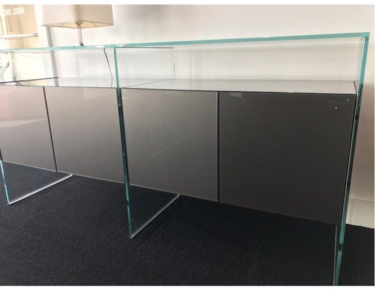 Gallotti & Radice Glass Modular System Air Unit Storage For Sale 1