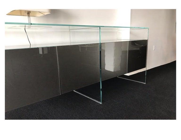 Gallotti & Radice Glass Modular System Air Unit Storage For Sale 2