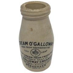 Galloway Preserved Cream Jar