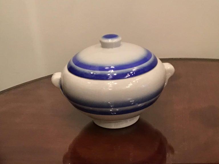 Galvani Pordenone Soup Tureen Centerpiece 1930 Ceramic, Italy For Sale 7