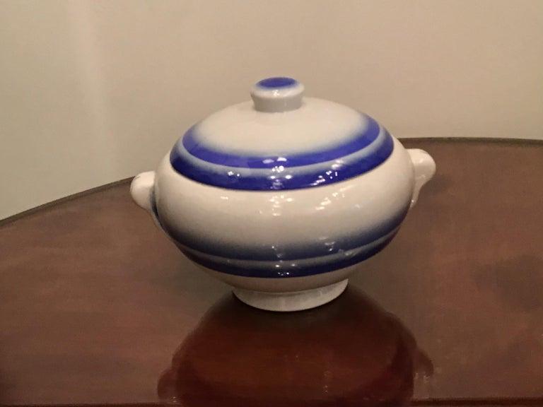 Galvani Pordenone Soup Tureen Centerpiece 1930 Ceramic, Italy For Sale 8