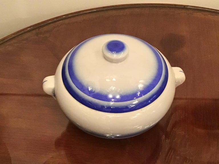 Galvani Pordenone Soup Tureen Centerpiece 1930 Ceramic, Italy For Sale 9