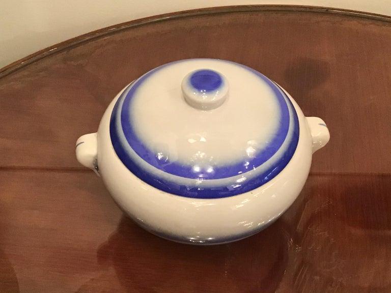 Galvani Pordenone Soup Tureen Centerpiece 1930 Ceramic, Italy For Sale 10