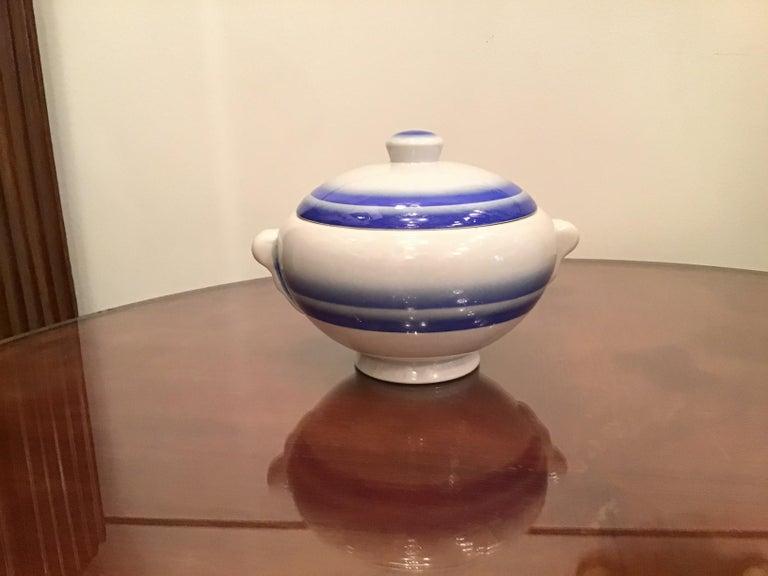 Galvani Pordenone Soup Tureen Centerpiece 1930 Ceramic, Italy For Sale 2