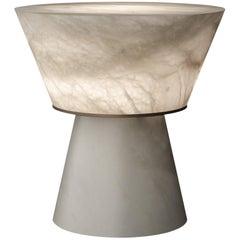 Gama Alabaster Table Lamp by Atelier Alain Ellouz
