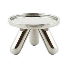 Gambino Small Platinum Ceramic Riser by Aldo Cibic