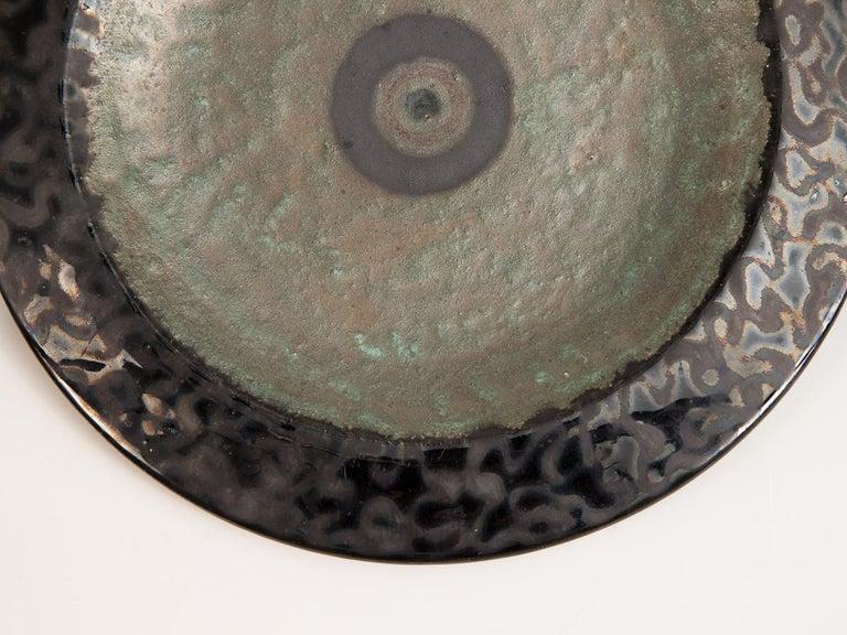 Late 20th Century Gambone Ceramic Charger