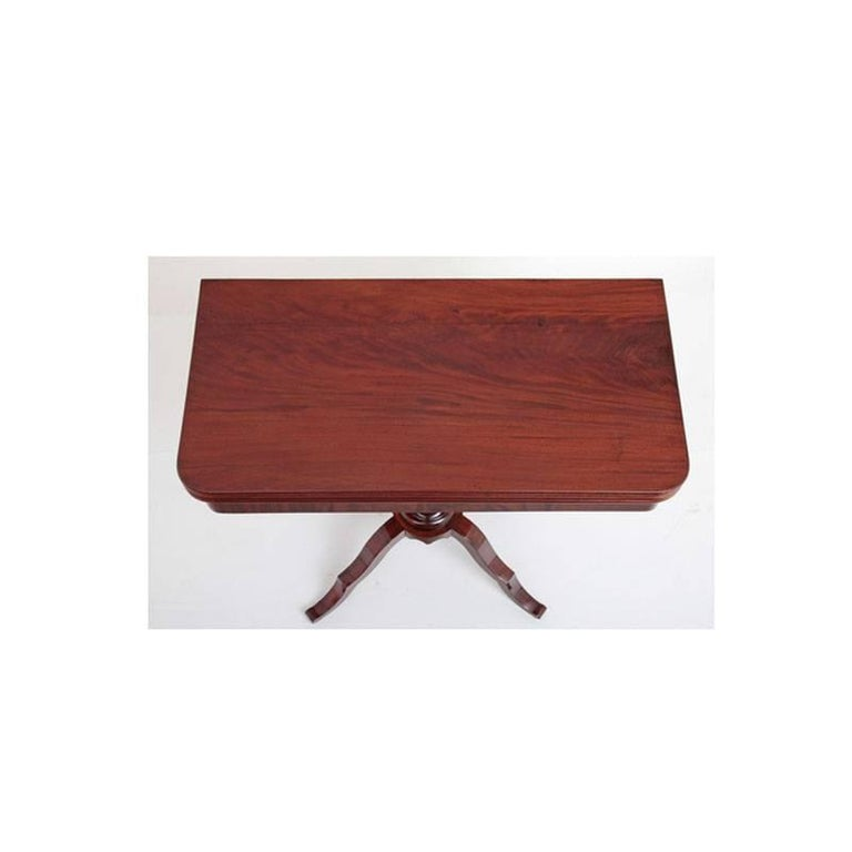 Mid-19th Century Game Table, Late Biedermeier, Germany, circa 1840 For Sale