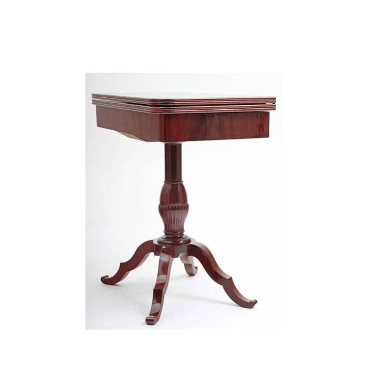 Game Table, Late Biedermeier, Germany, circa 1840 For Sale 2