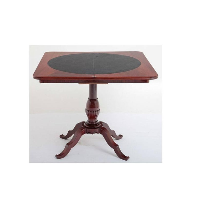 Game Table, Late Biedermeier, Germany, circa 1840 For Sale 3