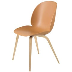 GamFratesi 'Beetle' Dining Chair with Oak Conic Base