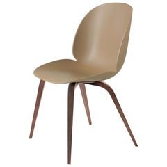 GamFratesi 'Beetle' Dining Chair with Walnut Conic Base