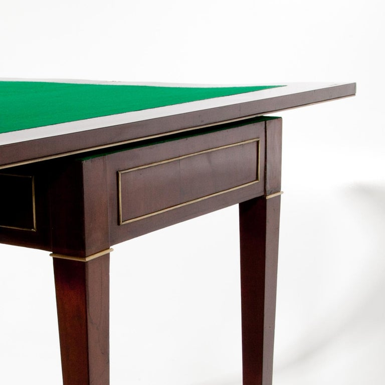 Gaming Table, First Half of the 19th Century In Good Condition For Sale In Greding, DE