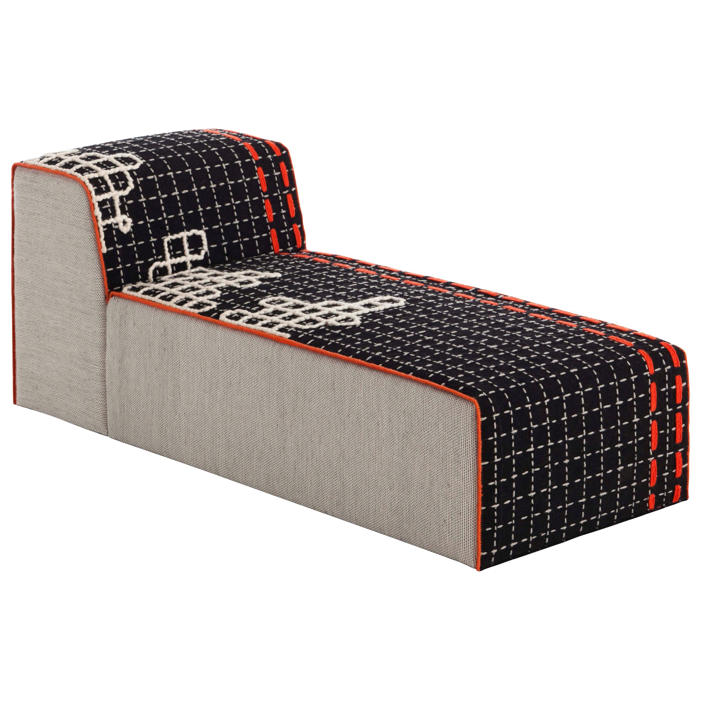 Patricia Urquiola Bandas Long Chaise Lounge Chair for GAN