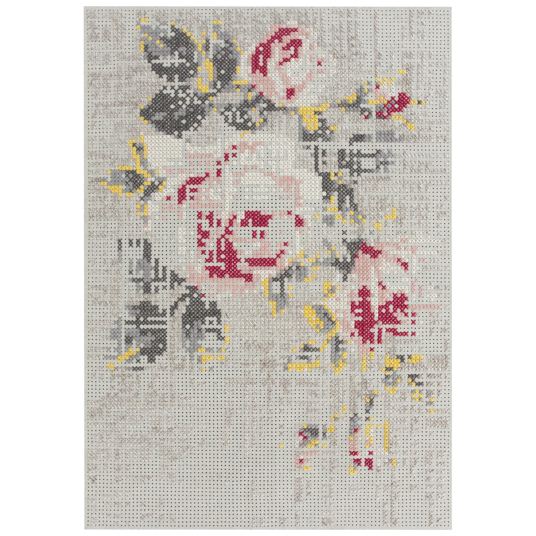 GAN Canevas Medium Abstract Rug by Charlotte Lancelot