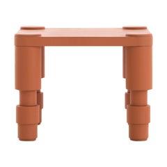 GAN Garden Layers Big Side Table in Aluminum