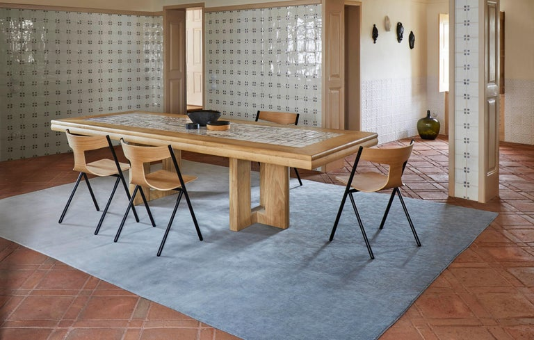Contemporary GAN Hand Knotted Degrade Large Rug by Patricia Urquiola For Sale