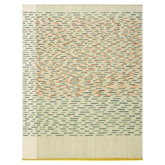 GAN Handloom Backstitch Busy Large Rug by Raw-Edges