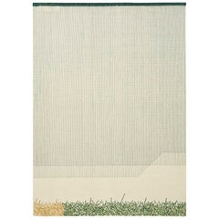 GAN Handloom Backstitch Calm Large Rug by Raw-Edges