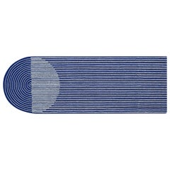 GAN Hand Tufted Ply Rug in Blue by MUT Design