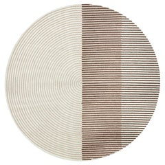 GAN Handtufted Ply Rug in Pink by MUT Design